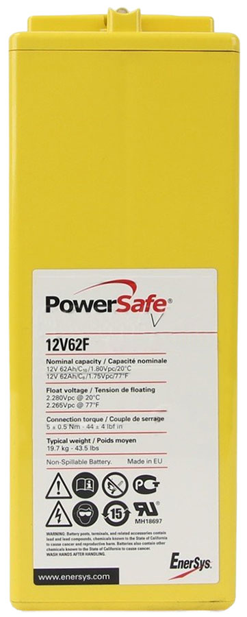 PowerSafe 12V62F